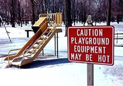 Playground Caution